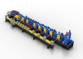FX350 3.5mm Driven by Gear Box C/Z Purlin Roll Forming Machine